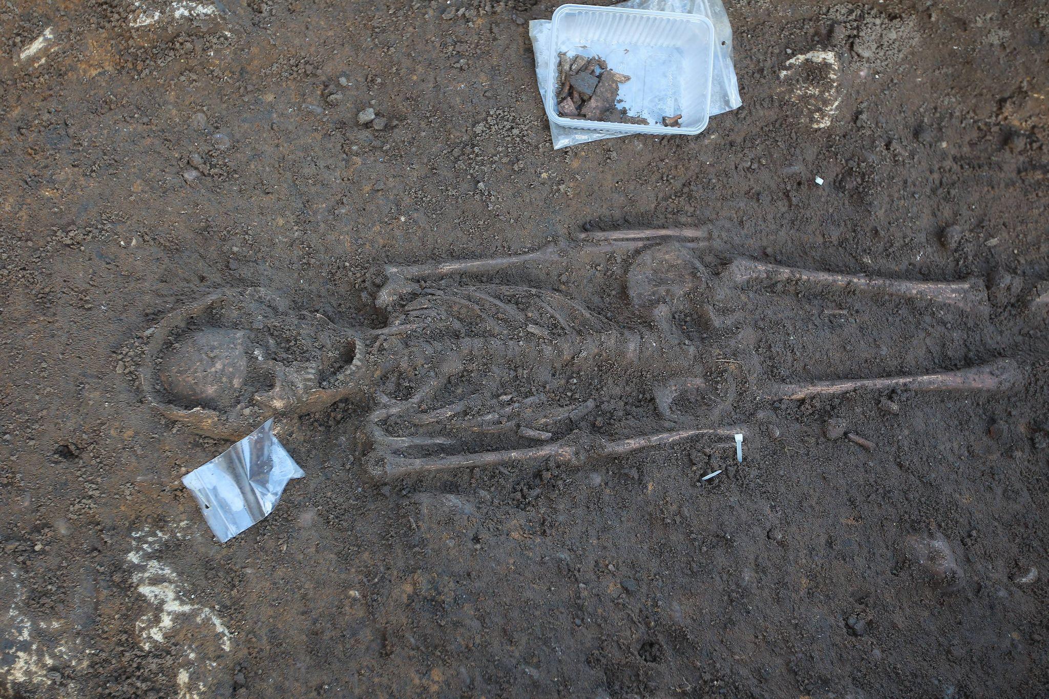 В Бордо случайно нашли древнее захоронение