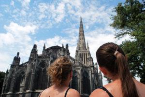 Туристическая карта Бордо